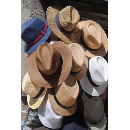 Canvas Print Hat Sun Straw Sun Hats Mens