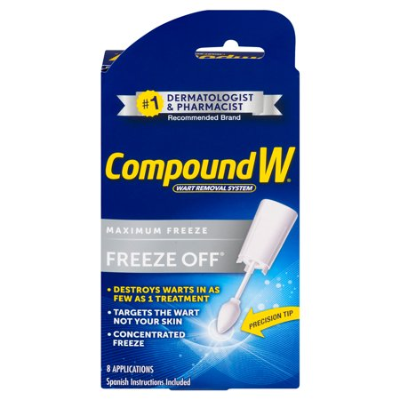 Compound W Freeze Off Wart Removal Treatment, 8 Applications