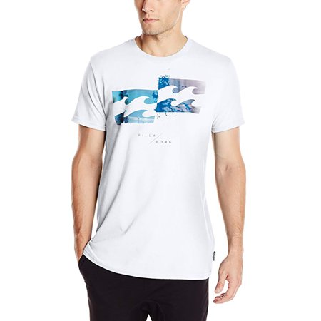 Billabong Men's Collider Shirts (Billabong White Tee)