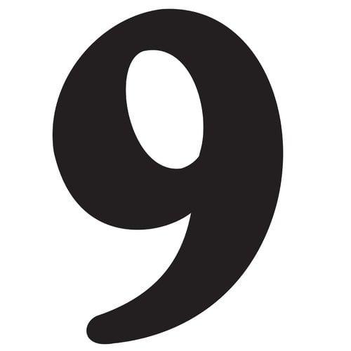 Hy-Ko House Number (Set of 5)