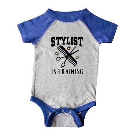 Stylist in Training Girls Salon Infant Creeper