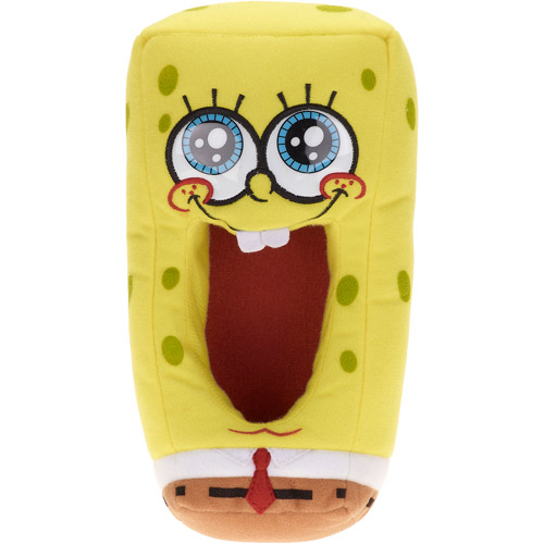 Nickelodeon Kids' Spongebob Squarepants Slippers