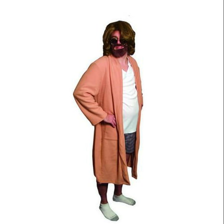 The Big Lebowski The Dude Bath Robe Outfit Costume Adult](Big Lebowski Purple Jumpsuit)
