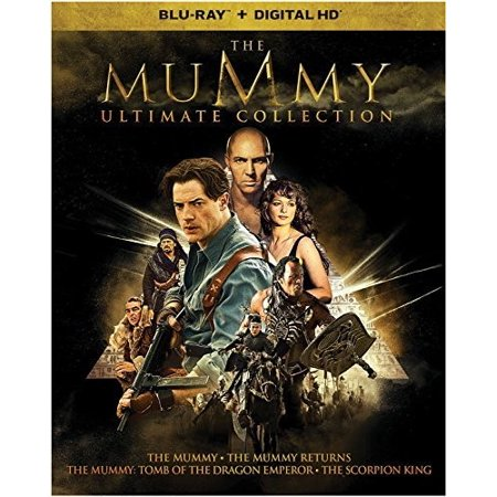 The Mummy Ultimate Collection  Blu Ray