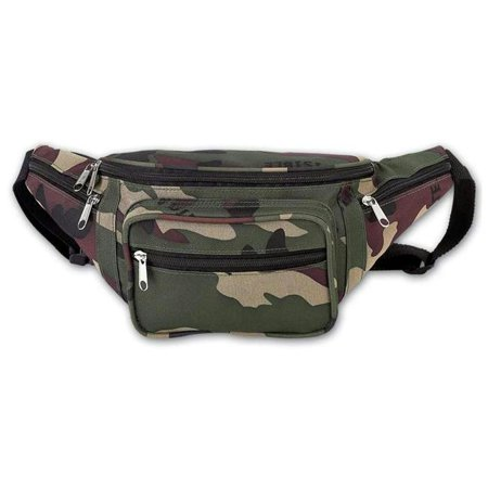 Invisible Camo Waist Bag (Invisible Pattern Camo Water Repellent Waist Bag)