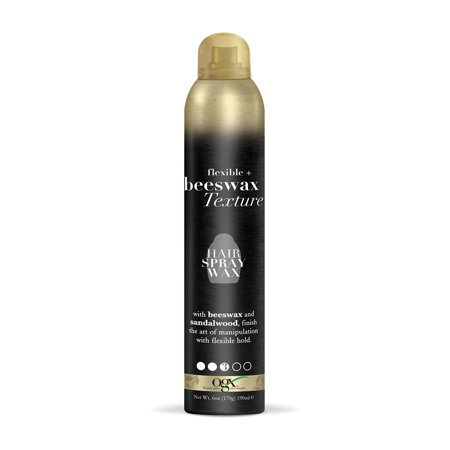 OGX Flexible + Beeswax Texture Hair Spray Wax 6oz