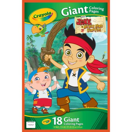 Crayola Giant Coloring Pages, Jake And The Never Land ...