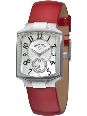 656c3222f Product Image Philip Stein Signature Classic 21-FMOP-LR 39x27.6mm Stainless  Steel Case Red