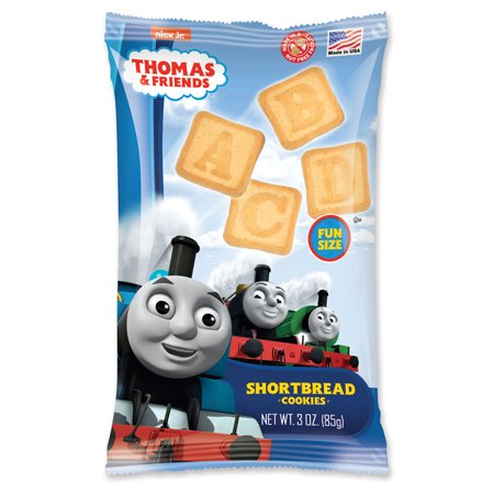 Thomas Train Friends Shortbread ABC Cookies 3oz