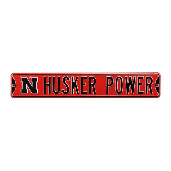 Authentic Street Signs 70083 Husker Power with N Logo - image 1 of 1