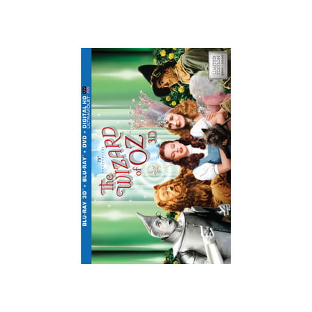 The Wizard Of Oz: 75th Anniversary Collector's Edition (3D Blu-ray + Blu-ray + DVD + Digital HD)](Cat From Wizard Of Oz)