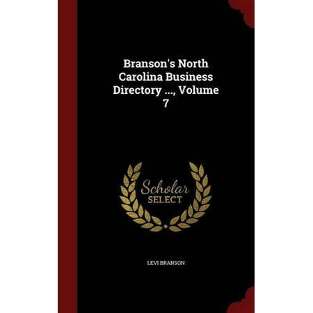 Branson's North Carolina Business Directory ..., Volume 7 - image 1 of 1