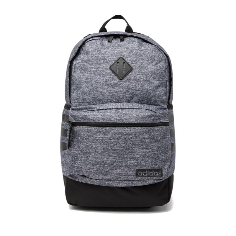 adidas Classic 3S III Backpack, Onix Jersey/Black, One Size