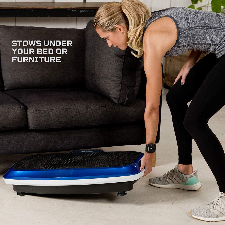 Black Details about  /LifePro Hovert 3D Vibration Plate Body Exercise Workout Equipment Machine