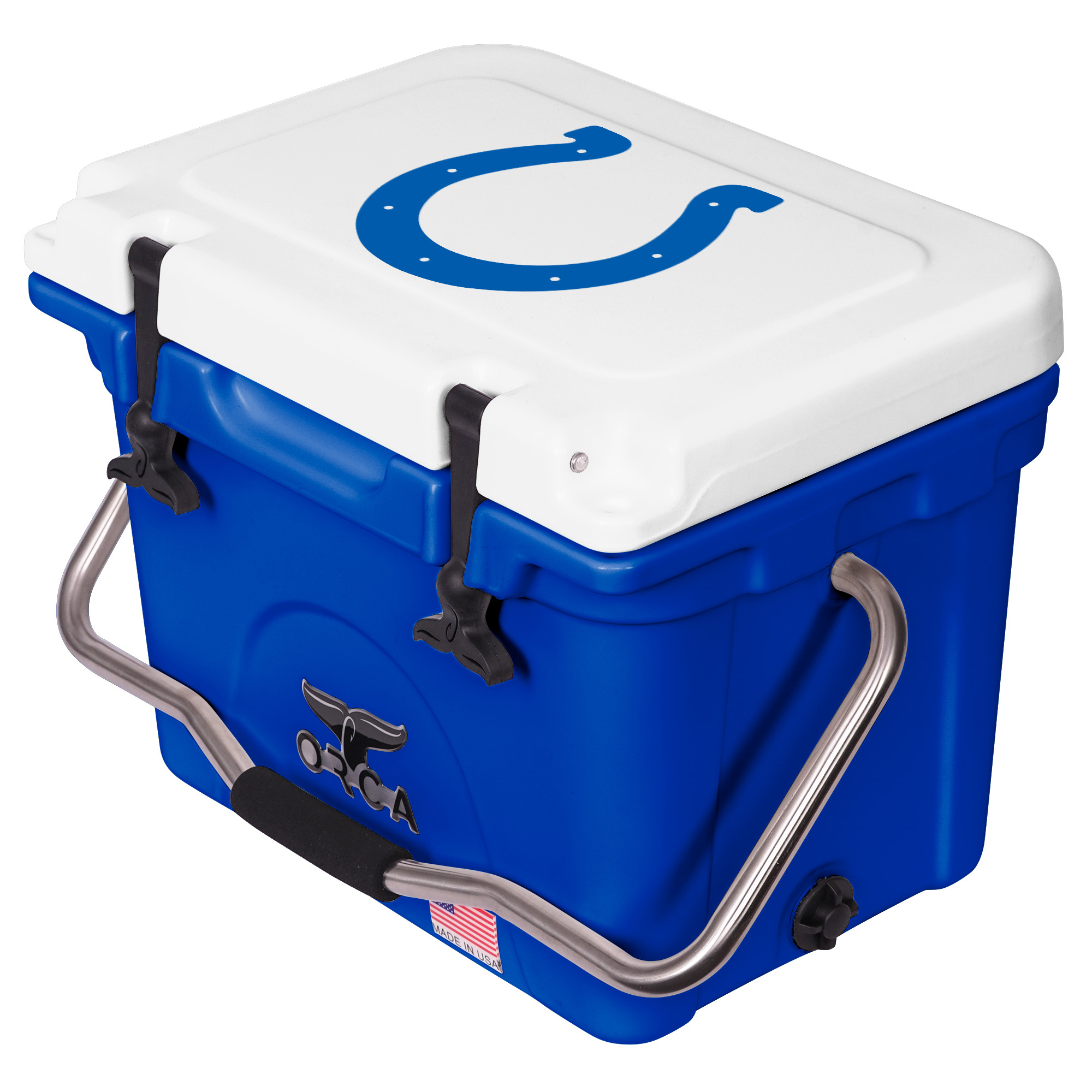 Indianapolis Colts ORCA 20-Quart Hard-Sided Cooler - Blue/White - No Size