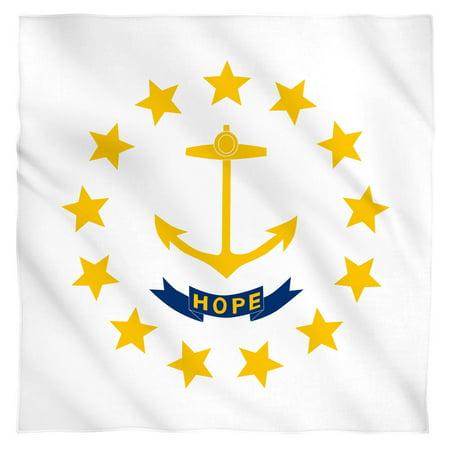 Rhode Island Flag Bandana