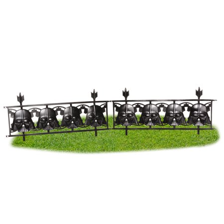 Star Wars: Darth Vader 2-Piece Fence Halloween Accessory