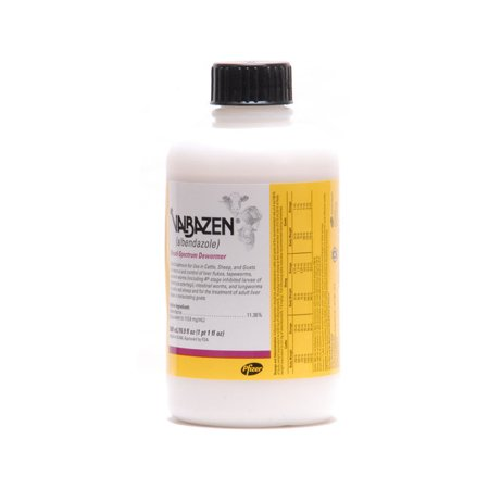 - Zoetis Valbazen Suspension Broad-spectrum Dewormer Control Parasites Worms 500ml