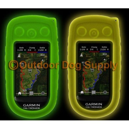 Garmin Replacement Protective Cover - Garmin Alpha 100 Protective Cover Case - Glow in the Dark - 2 Colors to Choose From - Free Shipping (Glow Green)