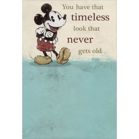 Sunrise Greetings Mickey Mouse: Timeless Disney Birthday Card