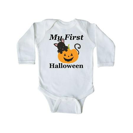My First Halloween Long Sleeve - My First Halloween