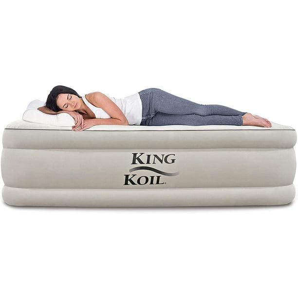King Koil Queen Air Mattress with Built-in Pump - Best ...