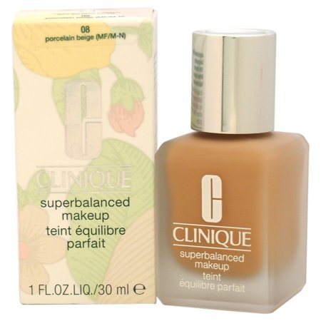 Superbalanced Makeup - # 08 Porcelain Beige (MF/M-N) - Normal To Oily Skin by Clinique for Women -