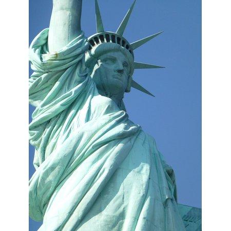 LAMINATED POSTER New York City Landmark Statue Of Liberty New York Poster Print 24 x (New York New York Statue Of Liberty)