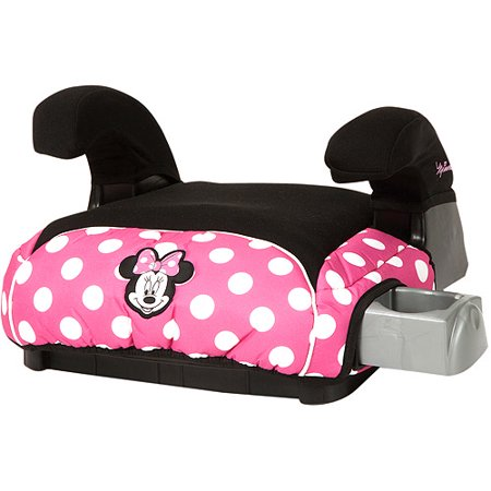 Minnie Mouse Booster Seat Walmart Disney Deluxe Belt Positioning Car