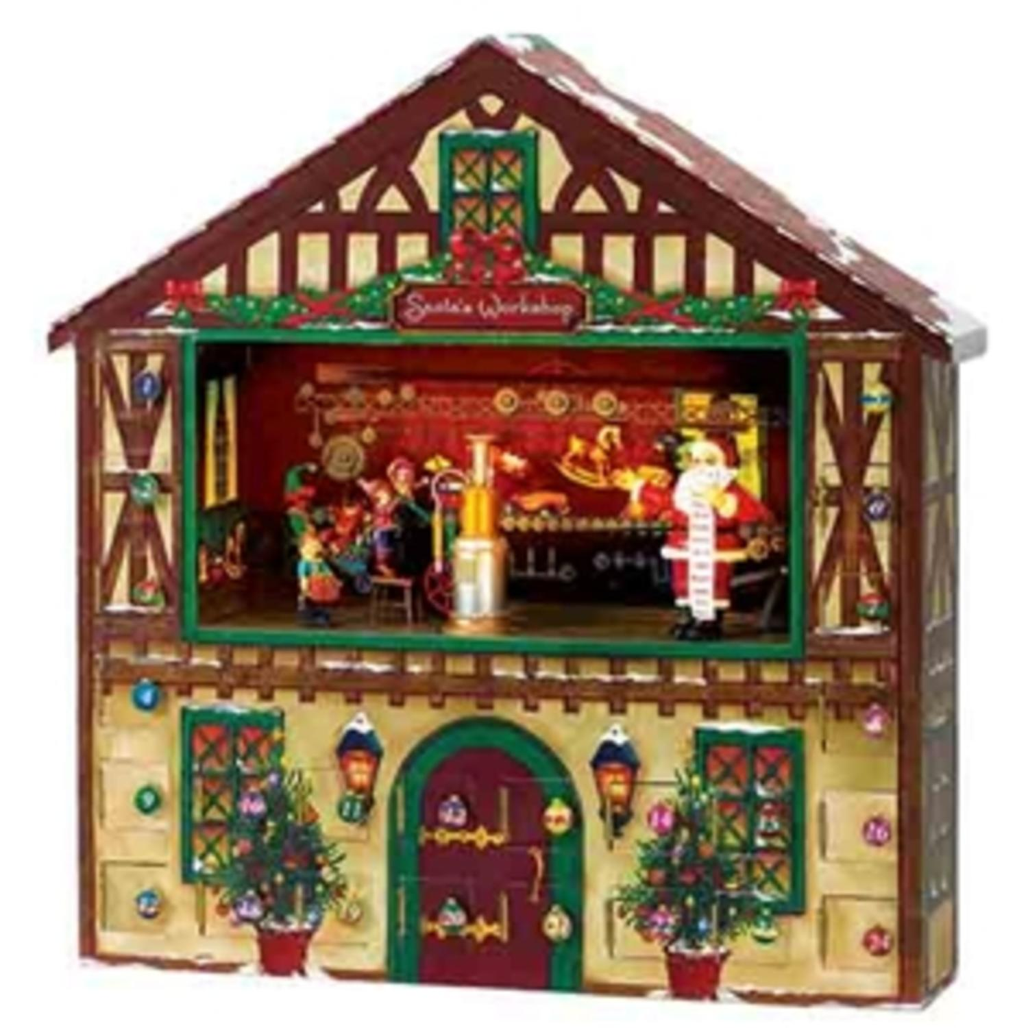 Mr. Christmas Animated & Musical Santa's Workshop Advent Calender ...