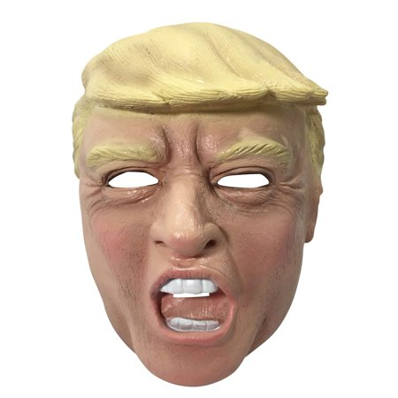 Vinyl Trump Mask Halloween Costume Accessory - Halloween Vinyl Craft Ideas