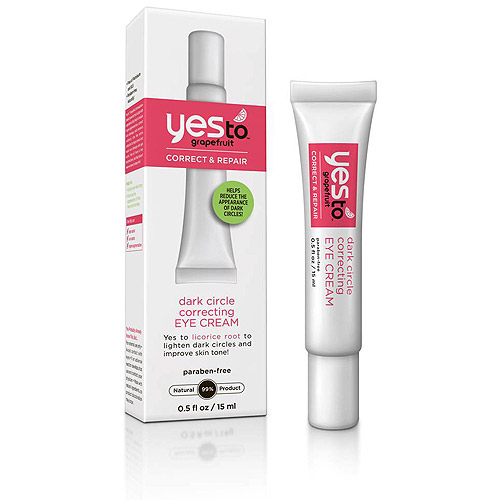 Yes to Grapefruit Dark Circle Correcting Eye Cream, .5 fl oz