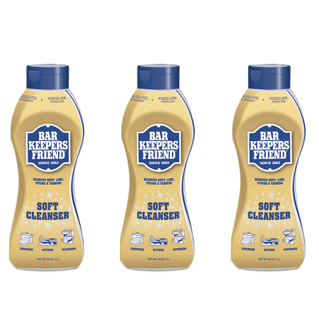 Triple Care Cleanser - (3 pack) BAR KEEPERS FRIEND LIQUID CLEANSER 26oz