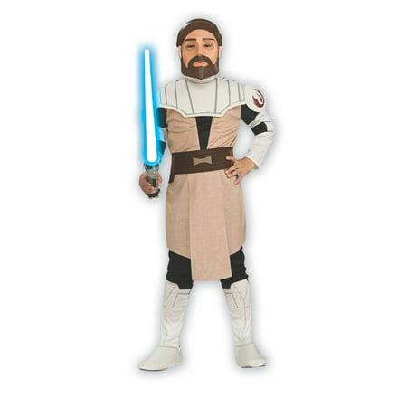 Boy's Obi Wan Kenobi Clone Wars - Child Obi Wan Kenobi Costume