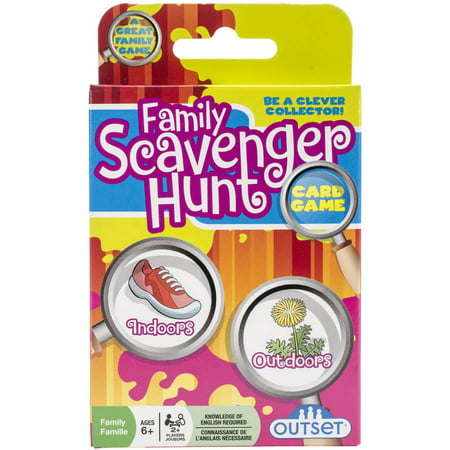 Family Scavenger Hunt Card Game - Fun Halloween Scavenger Hunts