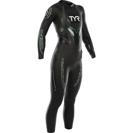 TYR Women's Hurricane Cat 3 Wetsuit Black/Seafoam