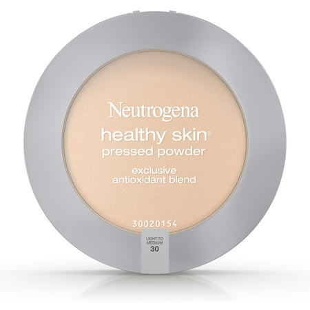 Yellow Sheer Finish Pressed Powder (Neutrogena Healthy Skin Pressed Powder Spf 20, Light To Medium 30,.34)
