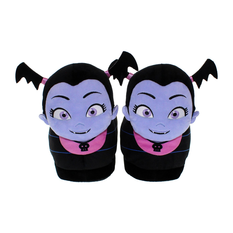 45d86e77b12e Happy Feet - 7033-3 - Disney Vampirina - Vampirina Slippers - Medium Large  - Happy Feet Mens and Womens Slippers - Walmart.com