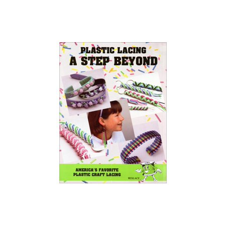 Plastic Lacing A Step Beyond Bk - image 1 of 1