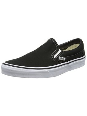 be6b98ee98f61b Product Image Vans VN-0EYEBLK  Classic Slip-on Black White Canvas Mens (6 D