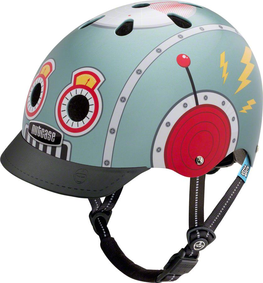 Nutcase Little Nutty Helmet: Tin Robot XS