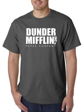 c290033cfb70ed Product Image New Way 872 - Unisex T-Shirt Dunder Mifflin Inc Paper Company  Office Logo Large