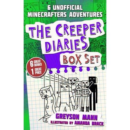 Tee Creeper - The Creeper Diaries Box Set : Six Unofficial Adventures for Minecrafters!