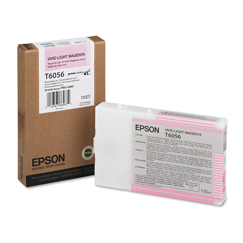 Epson T605600 (60) Ink, Vivid Light Magenta
