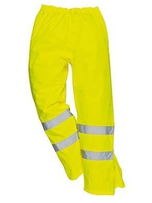 Portwest US487YERM Regular Fit Hi-Vis Breathable Pants, Medium - Yellow