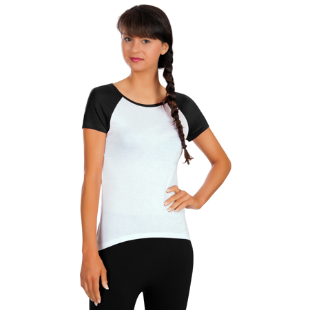 Comfortable Scoop Neck (Womens Active Comfortable Short & Long Sleeve Scoop Neck Rayon Workout Tee Shirt)