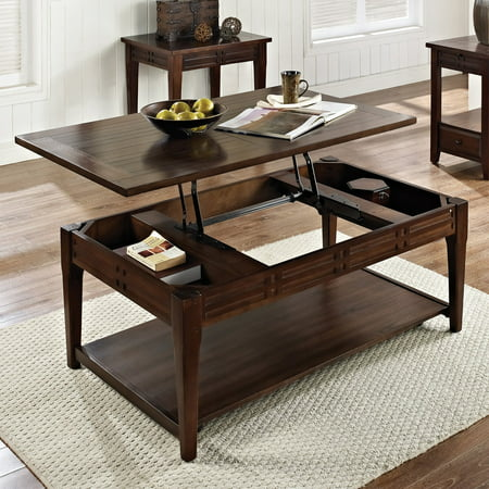 Crestline Lift-Top Cocktail Table w/Casters