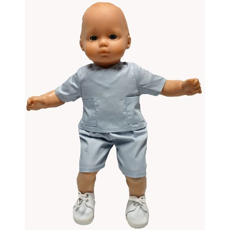 Baby Doll Clothes At Walmart Classy Baby Doll Clothes For Boy Or Girl Dolls Gray Doctor Outfit Walmart