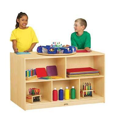 Kids Teens Jonti Craft 3920Jc Double Island Bookshelf Shelves For Kid Furniture Istilo124266