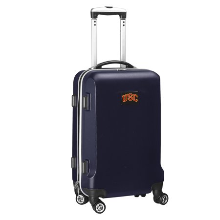 USC Trojans 21u0022 8-Wheel Hardcase Spinner Carry-On - Navy